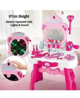 (Set M2) Dresser Table Make up Pretend Play Toys Set