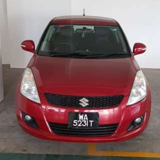 Suzuki swift 2014 glx