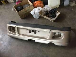 Perodua kenari rear bumper