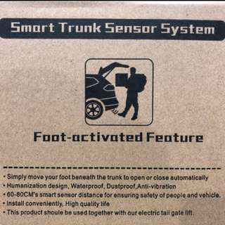 With these new auto boot and sensors will be a breeze when it comes to loading and unloading! Honda Odyssey  Toyota Vellfire/Alphard 2015 and above  Subaru Forester Toyota Harrier Toyota Estima  Mazda 5