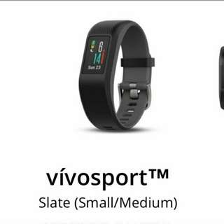 VIVOSPORT WATCH  Slate (Small/Medium)