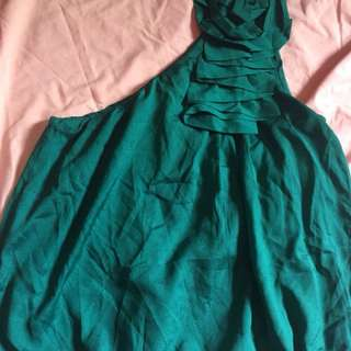 (Used once) toga turquoise top
