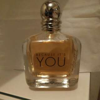 Armani Because its you perfume