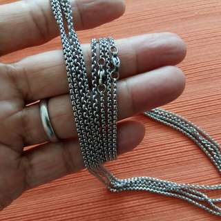 60cm Stainless Steel Chain