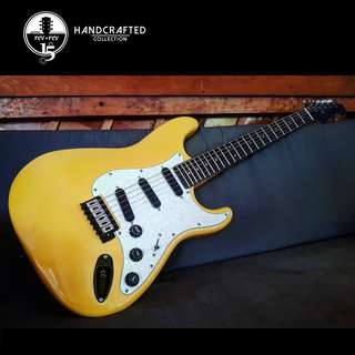 Yellow Stratocaster Electric Guitar *Custom*