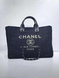 Chanel Cambon Deauville Tote Bag