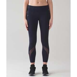 Lululemon Black Inspire Tight Size 6/S