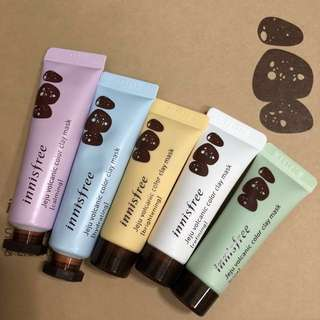 Innisfree Jeju Volcanic Colour Clay Mask [10ml]