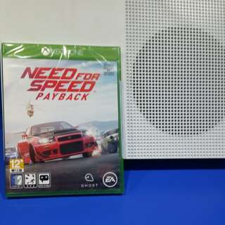 Xbox one S with need of speed payback