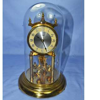 VINTAGE ANTIQUE KUNDO W.GERMANY MECHANICAL ANNIVERSARY CLOCK
