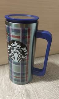 2017 starbucks Christmas Checked Tumbler