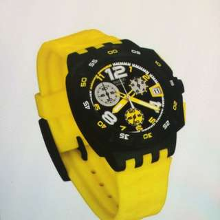 Swatch Yellow Head