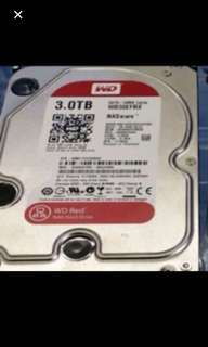 WTS Wd 3tb red Sata Hdd