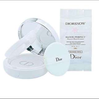 ❗️FLASH SALE❗️Refill *DIORSNOW BLOOM PERFECT BRIGHTENING PERFECT MOIST CUSHION SPF50 PA+++ (#010)