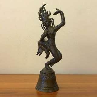銅器跳舞仙女鈴鐺
