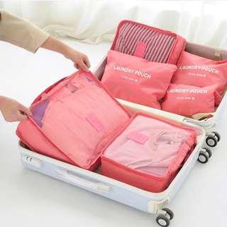 Travel luggage Organiser 6 in 1