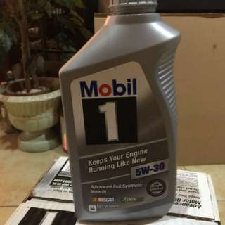 Mobil One Fully synthetic oil