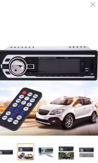 12V Car Stereo 4 Channels FM Radio MP3 Aux Audio Player