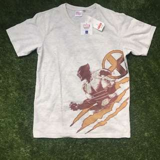 GU Wolverine Cotton T-Shirt Large