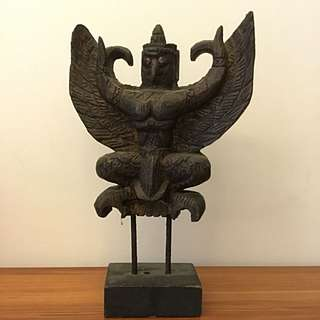 泰國鷹守護神木雕