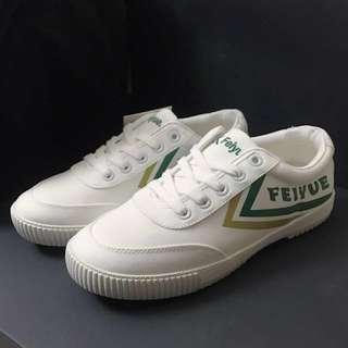 Feiyue飛躍 sneakers 白布鞋