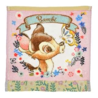 日本 Disney Store 直送 Blooming Garden 系列 Bambi 小鹿斑比毛巾 / 方巾