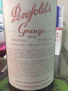 1996 Penfolds Grange Hermitage Magnum (1500ml)