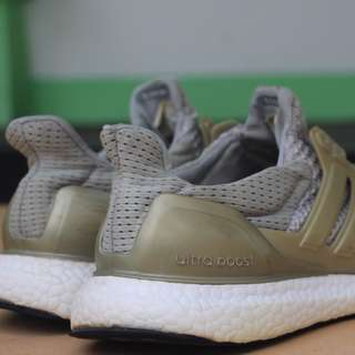 Grey ultraboost  (harga bisa nego)