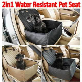 TPE043 Pet Carrier 2 in 1 Multifunction Car Front Seat Cover