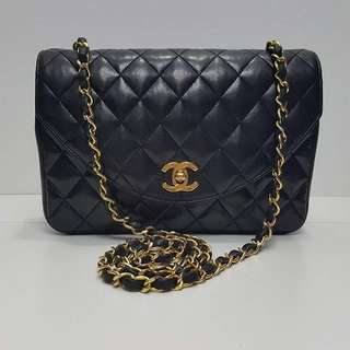 Authentic Chanel Curve Flap Bag