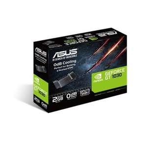 BNIB - ASUS GT 1030 2GB GDDR5 low profile (GT1030-SL-2G-BRK) GRAPHIC CARD