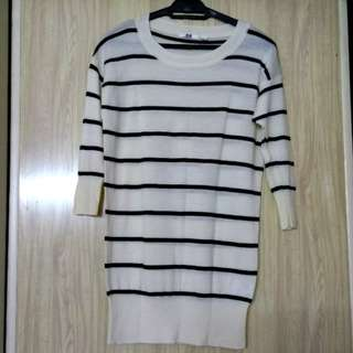 Uniqlo wool stripe sweater #JAN50