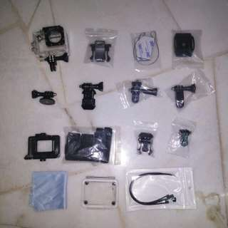 SJ5000 Mounting & Accessories