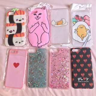 New iPhone 7/8+ cases