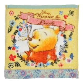 日本 Disney Store 直送 Blooming Garden 系列 Winnie the Pooh 小熊維尼毛巾 / 方巾