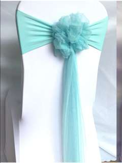Wedding Chair Ribbon / Chair Bow tie  for RENT