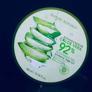 Nature Republic Aloe Vera Gel and Mist 92%