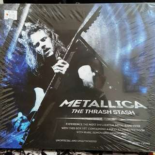 Metallica: The Thrash Stash Book (English - Hard Cover)