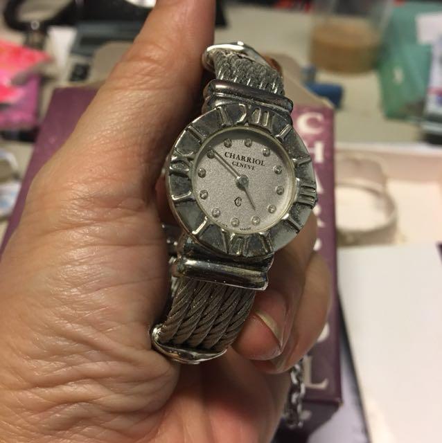 夏利豪原廠12顆鑽錶