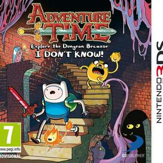 3DS Adventure Time: Collector's Edition