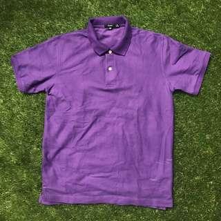 Bossini Purple Polo Shirt Medium