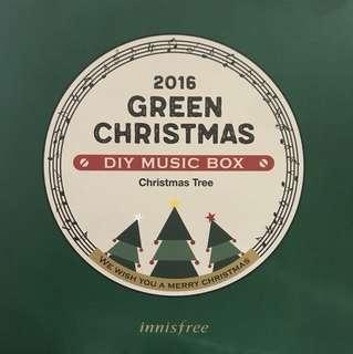 Innisfree DIY Music Box - Christmas Tree