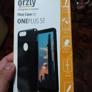 Oneplus 5t orzly case ( transparent)