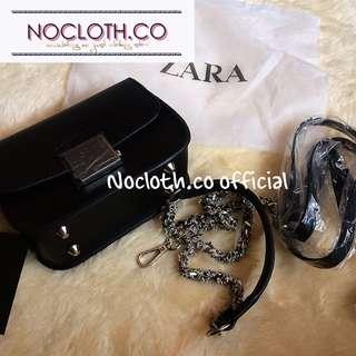 Mini Zara floral cross body bag authentic import
