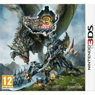 3DS Monster Hunter 3: Ultimate