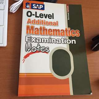 O level amath examination notes