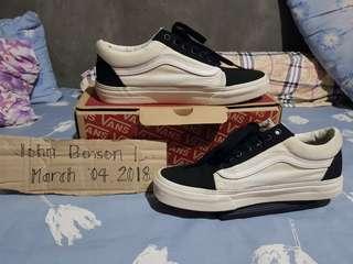 Vans Black Bone Old Skool Size 8