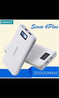Original Romoss Powerbank 20000mah