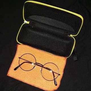 Kacamata bulat import
