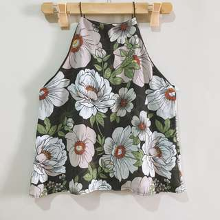 Flower Print Sleeveless